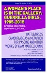 A Woman's Place is in the Gallery : Guerrilla Girls, 1985-2015 by Augustana College, Rock Island Illinois