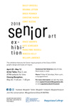2018 Senior Art Exhibition