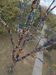 #YarnBombQC: Installation and Unveiling by Augustana College, Rock Island Illinois