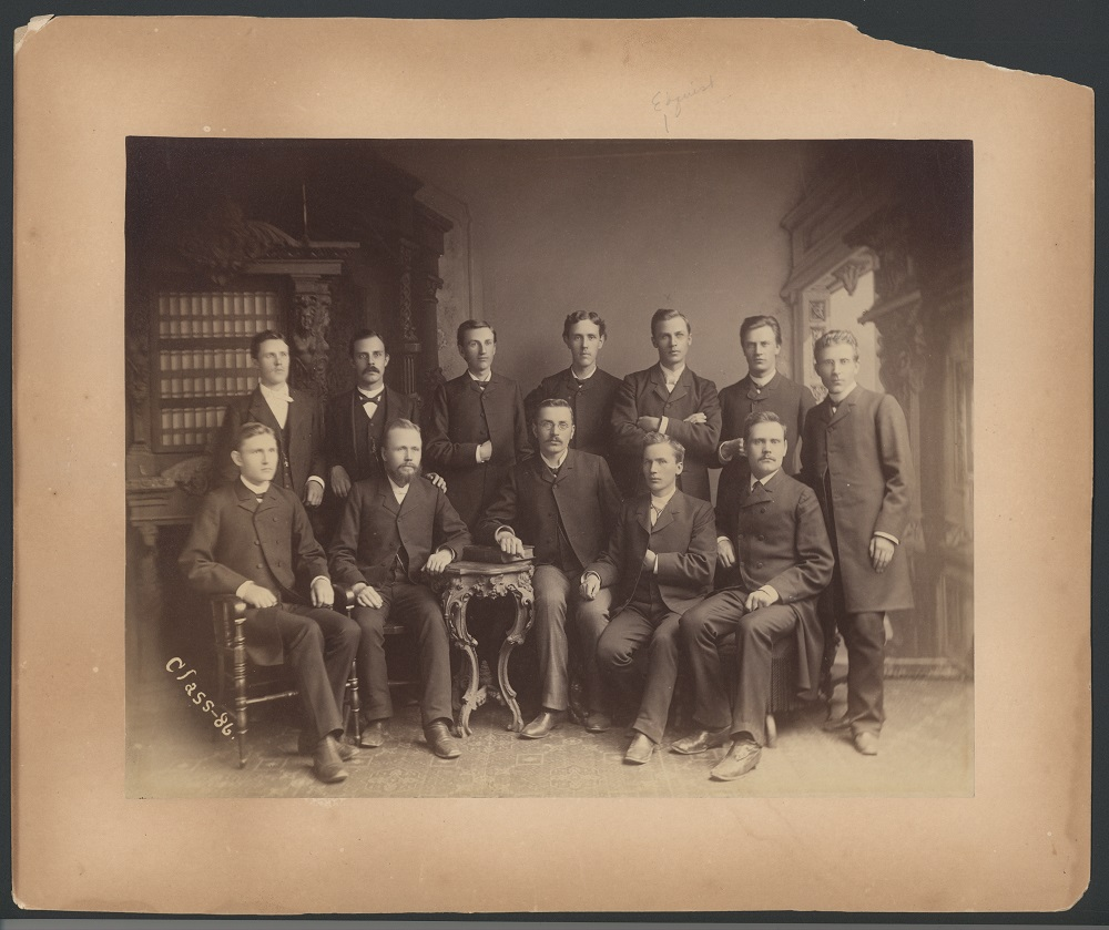 Augustana Seniors Fall 1885 (Class of 1886)