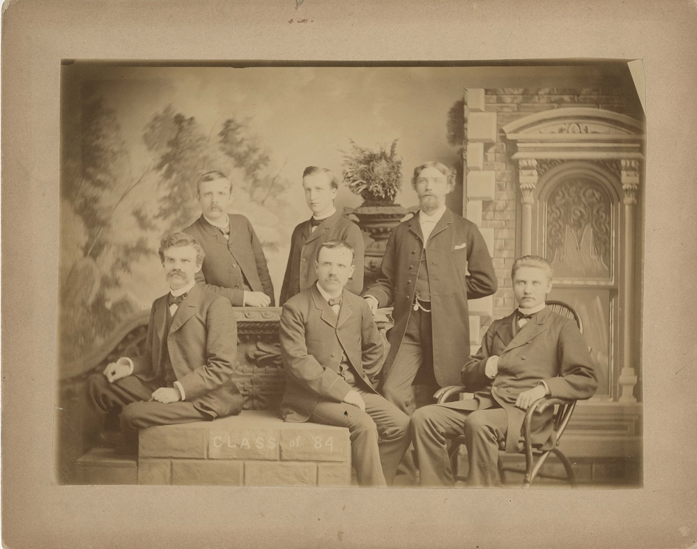 Augustana Seniors Fall 1883 (Class of 1884)