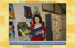 Maria Ford ('10) for the Tredway Library
