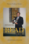 Steve Bahls reads for the Tredway Library