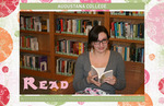 Kaity Lindgren reads for the Tredway Library