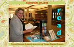 Connie Ghinazzi (Library) reads for the Thomas Tredway Library