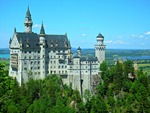 Neuschwanstein Castle by Mariah Benson