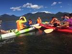Kayaking in Lijiang by Valerie Spreeman