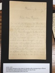 Letter, 1907
